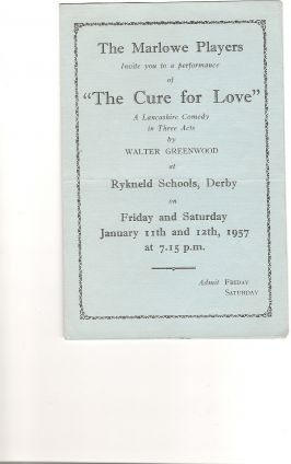 The Cure For Love - 1957