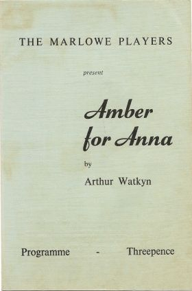 Amber For Anna - 1966